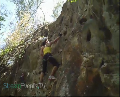 Rock Climbing and Rapelling Part 1