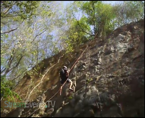 Rock Climbing and Rapelling Part 2